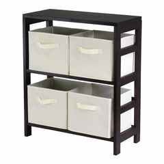 Capri M Storage Shelf - Winsome Trading - 92861