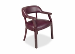 Captain Chair - Burgundy - LLR60600