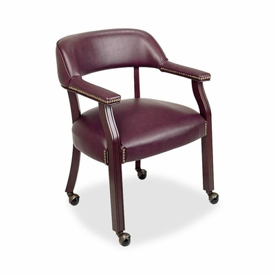 Captain Chair - Burgundy - LLR60601