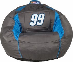 Carl Edwards # 99 Kahuna Bean Bag Sound Chair 2.0 - Grey & Blue