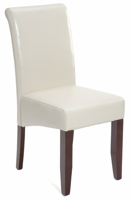 Carlsbad Cherry Ivory Bonded Leather Chair - Set of 2 - 888-481KD