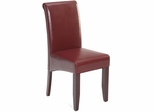 Carlsbad Cherry Red Bonded Leather Chair - Set of 2 - 888-482KD