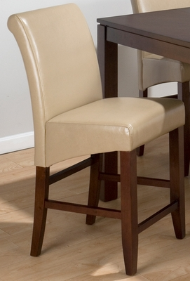 Carlsbad Cherry Sandstone Bonded Leather Stool - Set of 2 - 888-BS488KD