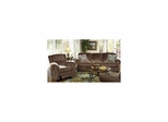 Carlton Java Sofa and Recliner Set - Jackson Furniture