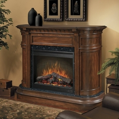 Carlyle Electric Fireplace in Walnut - Dimplex - SOP-475-BW