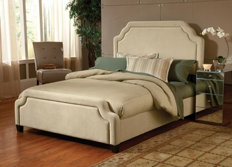 Carlyle King Size Fabric Bed - Hillsdale Furniture - 1566BKRC