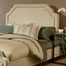 Carlyle King Size Fabric Headboard with Frame - Hillsdale Furniture - 1566HKRC