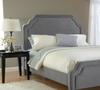 Carlyle Queen Size Fabric Headboard with Frame - Hillsdale Furniture - 1638HQRC
