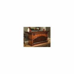 "Carmella 88"" Home Bar in Brandy - American Hertiage - AH-600038BR-CB-RF"