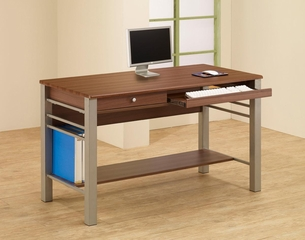 Carmen Computer Desk with Footrest - 801041