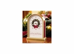 Carols of Christmas II Satin Brass Table Clock - Howard Miller