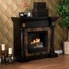 Carrington Convertible Black Gel Fireplace - Holly and Martin
