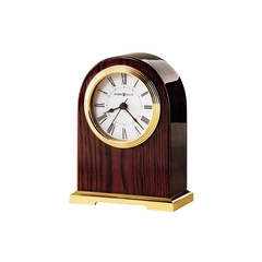 Carter Table Clock in Rosewood Hall - Howard Miller