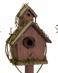 Carthage Standing Birdhouses (Set of 3) - IMAX - 29094-3