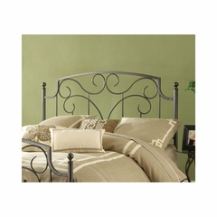Cartwright Headboard - Magnesium Pewter - Hillsdale