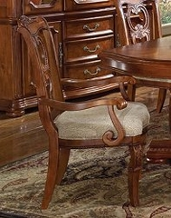 Carved Back Arm Chair (Set of 2) - Wynwood Furniture - 1635-57-SET