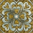 Casa Medallion Tiles (Set of 4) - IMAX - 12764-4