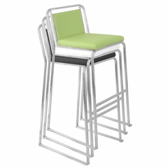 Cascade Barstool Black (Set of 2) - LumiSource - BS-BG-CASC-B2