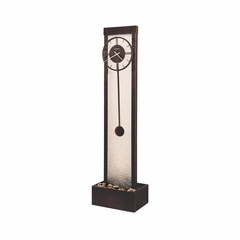 Cascade Ty Pennington Waterfall Clock - Howard Miller