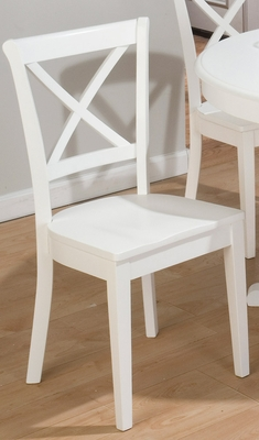 Casper White Dining Side Chair - Set of 2 - 662-124KD