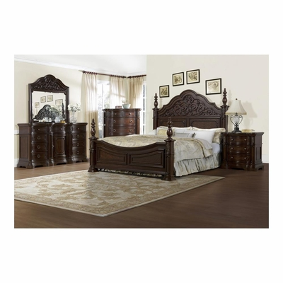 Cassara 5 Piece Bedroom Set - Pulaski