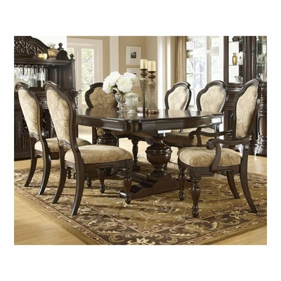 Cassara 7 Piece Dining Room Set - Pulaski