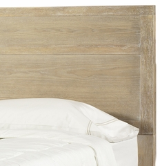 "Cassidy ""Washed Teak"" Full/Queen Size Panel Headboard - Powell Furniture - 504-046"