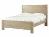 "Cassidy ""Washed Teak"" Full Size Panel Bed - Powell Furniture - 504-FBED"