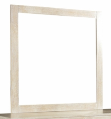 "Cassidy ""Washed Teak"" Mirror - Powell Furniture - 504-021"