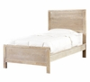"Cassidy ""Washed Teak"" Twin Size Panel Bed - Powell Furniture - 504-042"