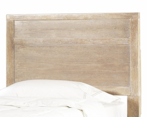 "Cassidy ""Washed Teak"" Twin Size Panel Headboard - Powell Furniture - 504-039"