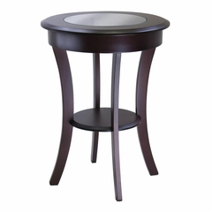 Cassie Round Accent Table - Winsome Trading - 40019