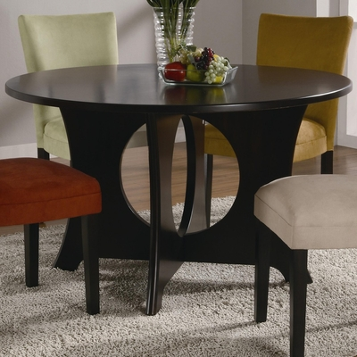 Castana Dining Table in Rich Cappuccino - Coaster - 101661