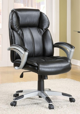 Casual Contemporary Faux Leather Office Task Chair - 800038