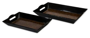 Catalina Trays (Set of 2) - IMAX - 31057-2