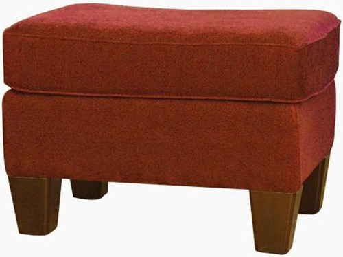 Cayenne Upholstered Oxford Ottoman - Carolina Chair - SH2554-23-G027