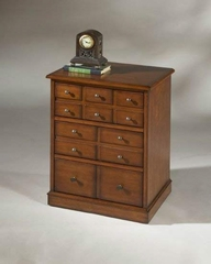 CD / DVD Storage Chest in Antique Cherry - Butler Furniture - BT-1562011
