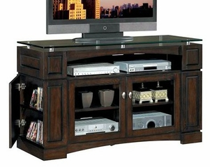 Celena Media Console in Espresso on Ash - Classic Flame - TC60-2118-E450