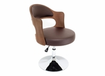 Cello Chair Walnut Brown - Lumisource