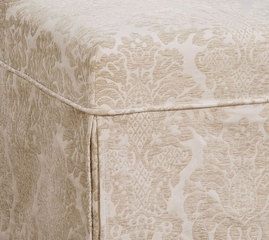 "Center Match Fleur-de-lis Tone-on-Tone Tapestry Skirted ""Slip Over"" (Fits 741-440 Chair) - Powell Furniture - 741-206Z"