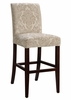 "Center Match Fleur-de-lis Tone-on-Tone Tapestry ""Slip Over"" for Counter Stool or Bar Stool - Powell Furniture - 742-207Z"