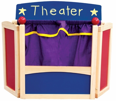 Center Stage Tabletop Puppet Theater - Guidecraft - G51061