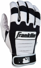 CFX PRO Series Adult Batting Glove Pearl / Black - Franklin Sports