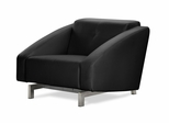 Chair Convertible in Black - Quadro Vega - BA-VGM-1-FA-BK
