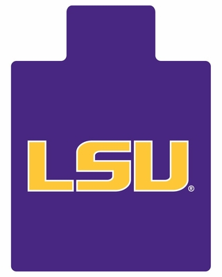 Chair Mat - Louisiana State University - Armstrong Fan Decor Chairmat - L9921181