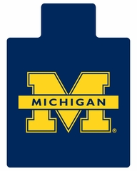 Chair Mat - University of Michigan - Armstrong Fan Decor Chairmat - L9916181