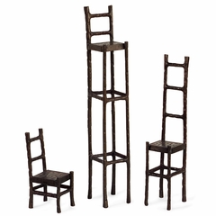 Chair Sculptures (Set of 3) - IMAX - 60029-3