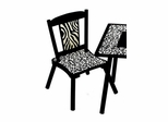 Chair (Set of 2) - Wild Side - LOD71002B