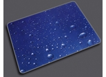 "Chairmat 36"" x 48"" - ""Drops"" Print Poly Carbonate Chairmat - Floortex - 229220ECDR"