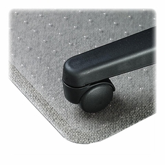 Chairmat Average Lip - Clear - LLR02157